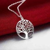 Collana e Orecchini albero della Vita