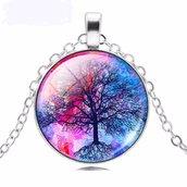Collana Circle Tree of Life Albero della Vita