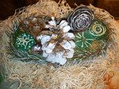 Candela centro tavola natalizie, idee regalo