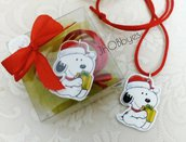 Collanina con ciondolo Snoopy