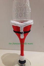 Bicchiere Personalizzato Babbo Natale