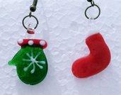 """orecchini in vetro """"Natale 2"""""""