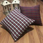Cuscino scozzese natalizio