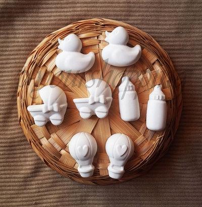 40 Gessetti Profumati Battesimo Matrimonio Compleanno Anniversario Bomboniera Segnaposto