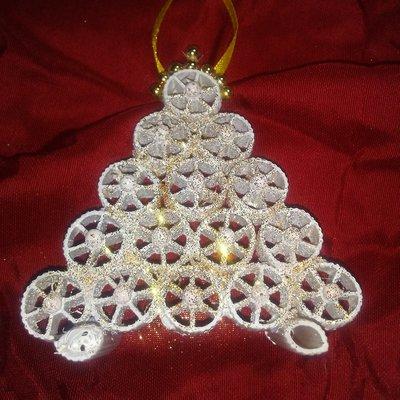 Addobbi natalizi pasta cruda - Feste - Decorazioni - di