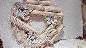 ghirlande decorative fatte a mano
