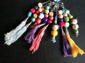 Porta chiavi colorati