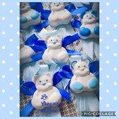 Gessi 50 Segnaposto gessetti profumati orsetto nascita battesimo