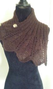 Scalda collo lana maglia donna