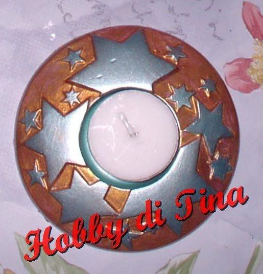 Portacandela Stella 2