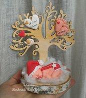 Idea regalo il mio primo Natale- albero della vita