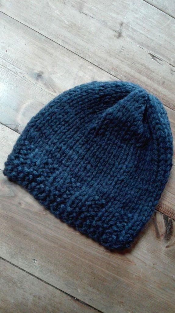 cappello di lana lavorato ai ferri - donna - abbigliamento - di lan