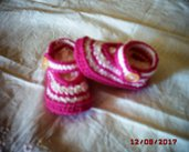 Scarpette Ballerine in pura lana merinos - mis 10 cm - no. scarpe 16
