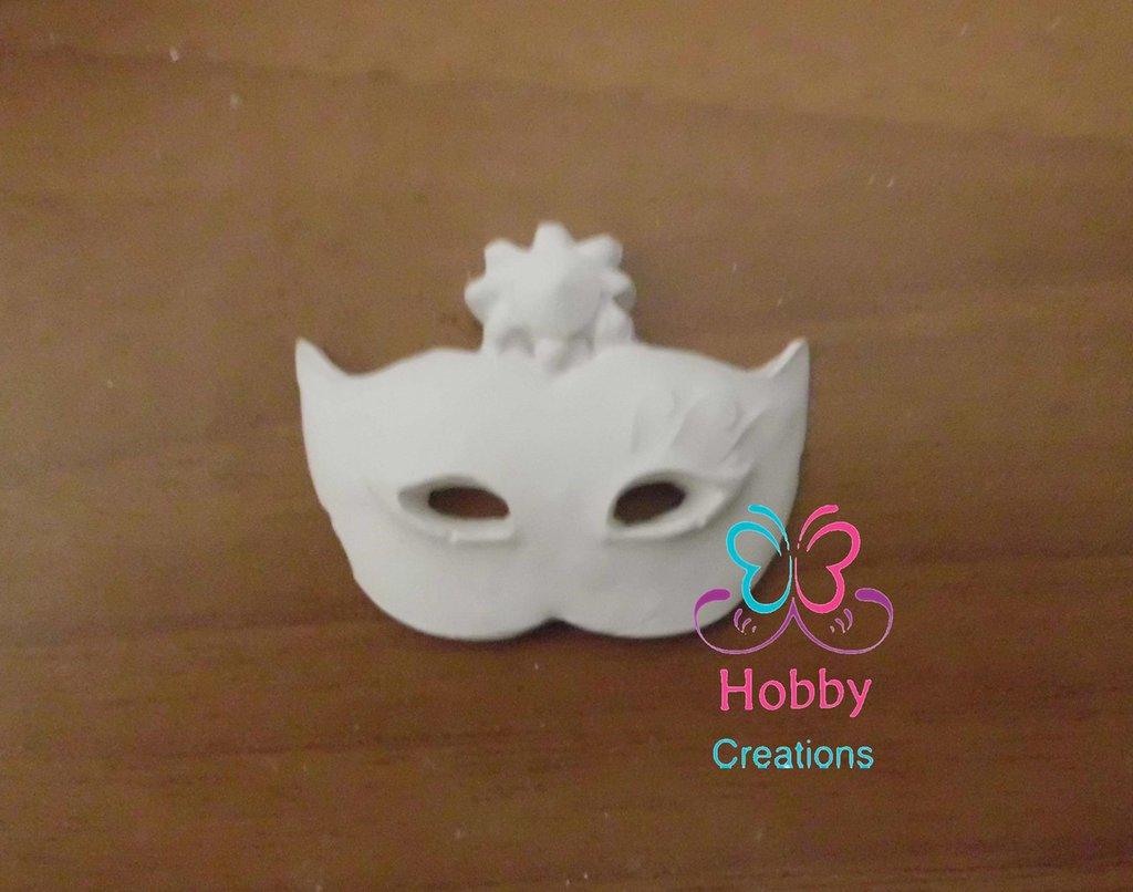 Gessetto a forma di Maschera mascherina, gadget, bomboniera Cresima, Battesimo, Comunione, Matrimonio, Natale – Idea Regalo