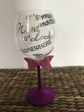 Bicchiere / regalo di compleanno