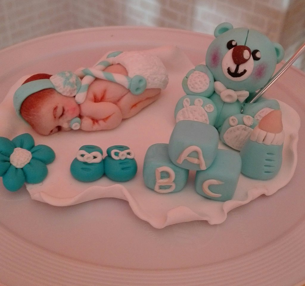 Cake topper battesimo personalizzabili