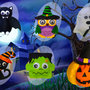 KIT Halloween, decorazioni o gadget