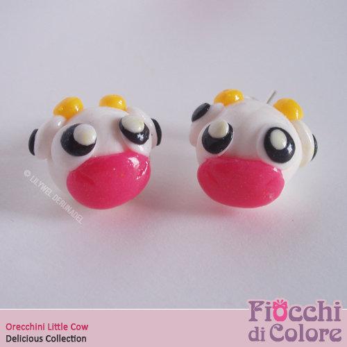Sweet Cow Earrings