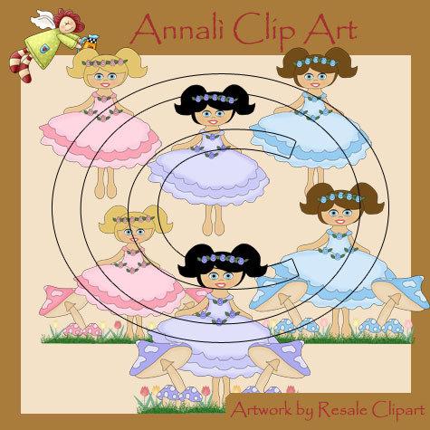 Principesse - Clip Art per Scrapbooking e Decoupage - Immagini