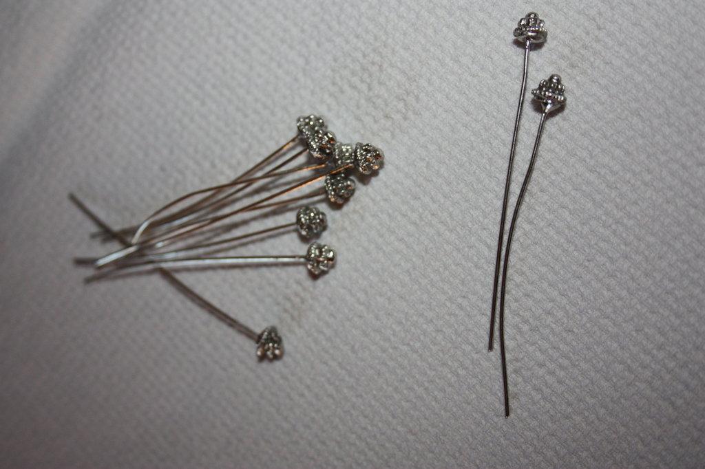 chiodini in argento tibetano