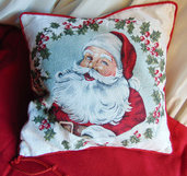 Cuscino Babbo Natale