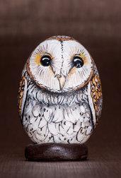 SASSO DIPINTO - BARBAGIANNI - animali di pietra - collezionismo - idea regalo