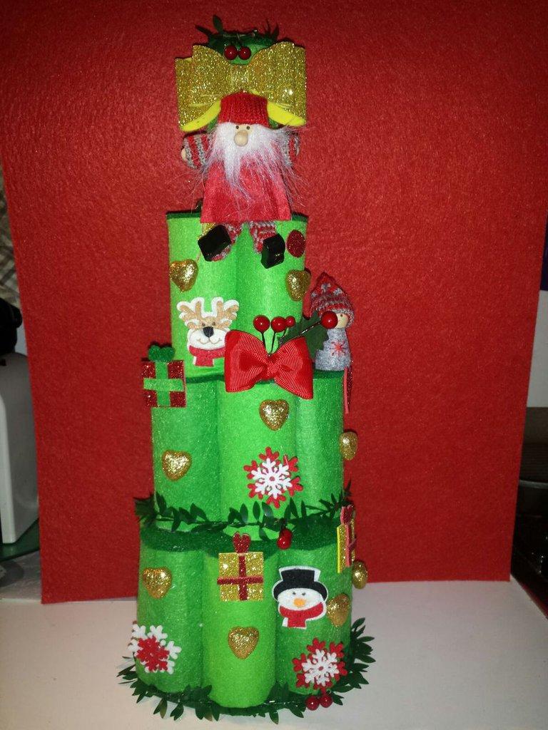 Idee Di Riciclo Per Natale albero di natale riciclo creativo