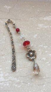 Segnalibro gioiello in metallo