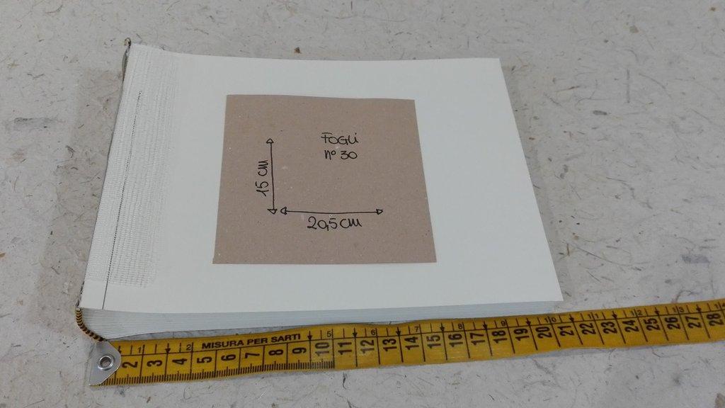 Interno per album foto 15x20 cm 30 fogli