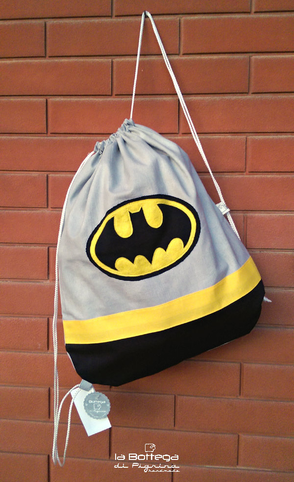 a basso prezzo 0ef5e b4849 Sacca / Zainetto Batman