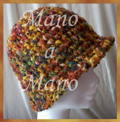 Cappello a cloche - multicolore