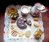 Miniatura dolcetti fimo soprammobile