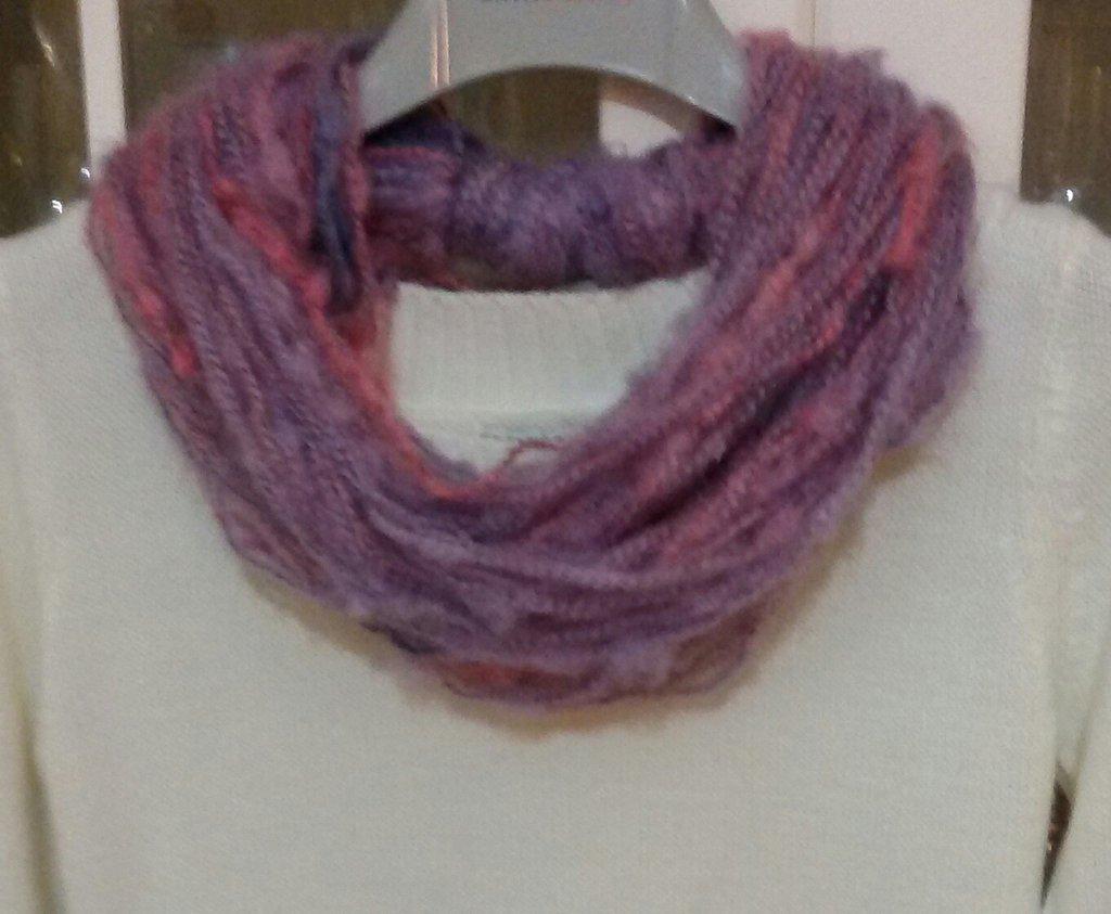 Sciarpa collana handmade