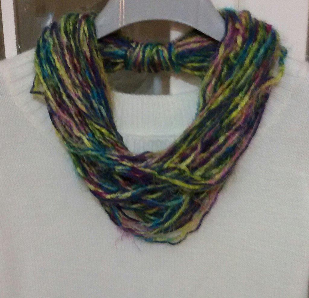 Collana sciarpa  scarf donna scaldacollo