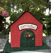 """Natale - La casetta dei regali """"merry christmas"""""""