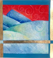 Dipinto, Nuovo Mondo in Blu