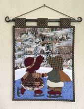 Pannello porta posta Sue e Bill in montagna