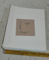 Interno album 24x20 50 fogli