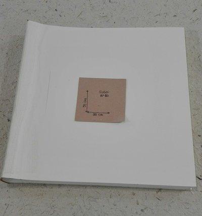 Interno album 35x35 60 fogli