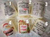 Candele natalizie idea regalo