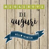 Biglietti d'auguri natalizi - Card natalizie - Hello Winter