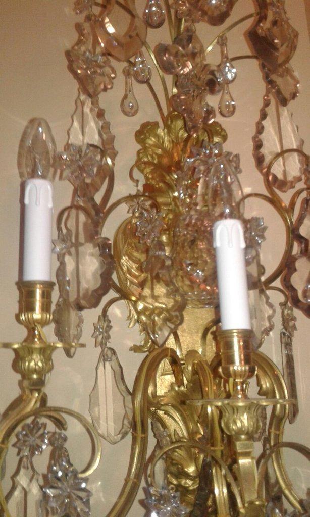Lampadari A Gocce In Cristallo.Cristalli Pendenti O Gocce Ricambi Per Lampadari Di Venini