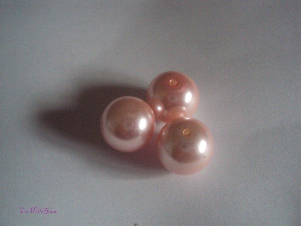 10 pezzi perla rosa chiaro