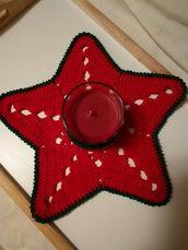 centrotavola portacandela stella più candela