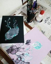 Disegni astratti Botanic'art