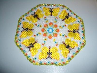 centrino farfalle gialle