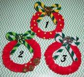 Mini Ghirlande Natalizie Decorative - Christmas Collection^^