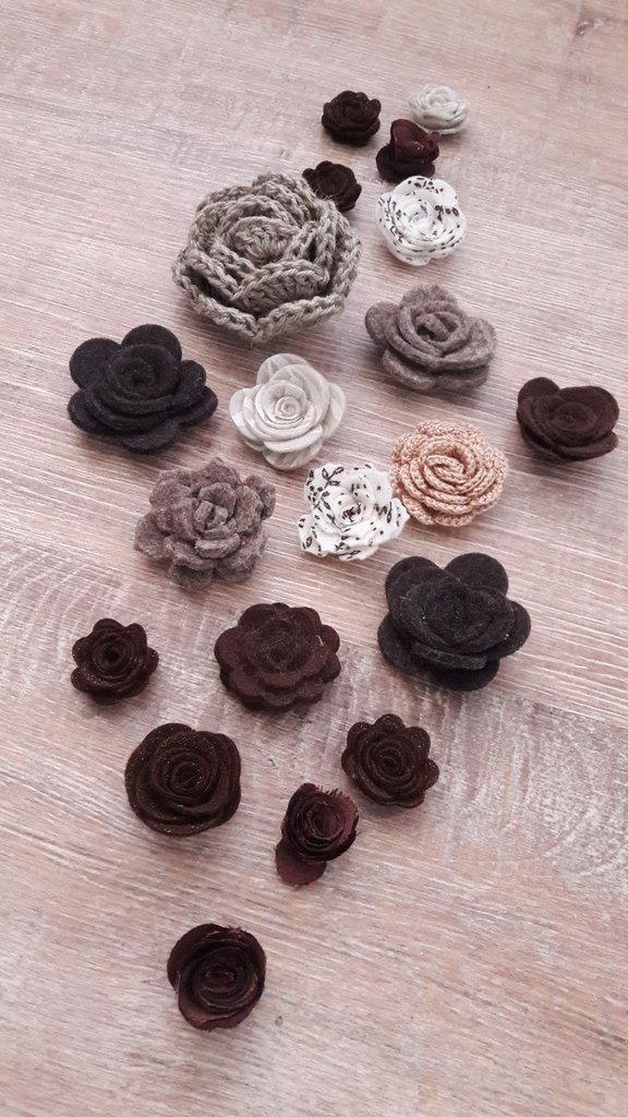 Mix rose marroni