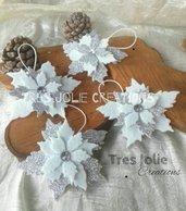 3 pz Decorazioni albero stella di natale addobbi natalizi christmas tree