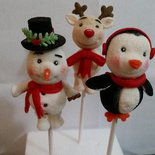 Morbidi marshmallows Natalizi personalizzati
